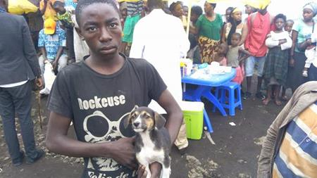 Rabies vaccinations in the Democratic Republic of Congo