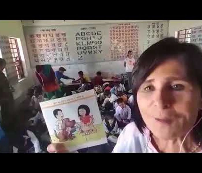 Video: Das SUST-Kinderbüchlein in Nepal