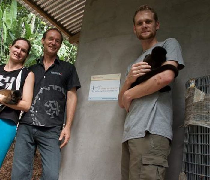 SUST Orphan Animal Hospital in Peru: protection and rescue for poached wild animals
