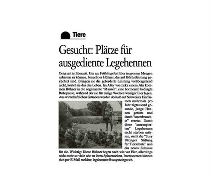 Tessiner Zeitung - April 2019