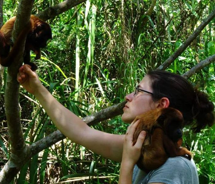 SUST VOLUNTEER SARAH FEHR IS OUR EXPERT FOR BOLIVIA AND THE AMAZON