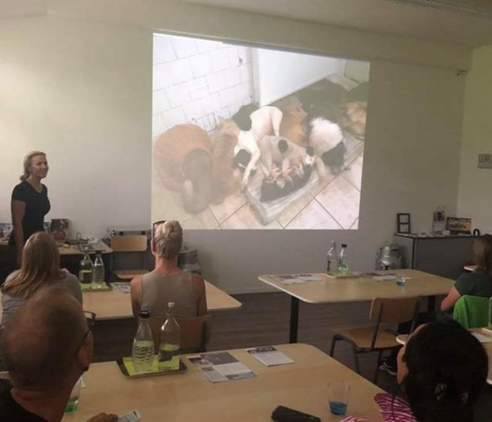 SUST-Lecture at the Dog Academy Switzerland