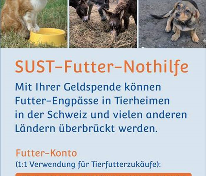 Futter-Nothilfe 105 x 148