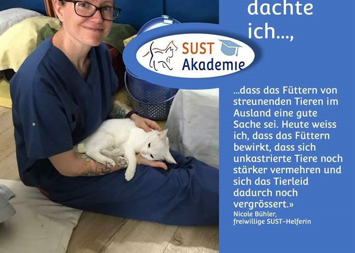 Acquire your animal welfare expertise at the SUST Academy (German only)