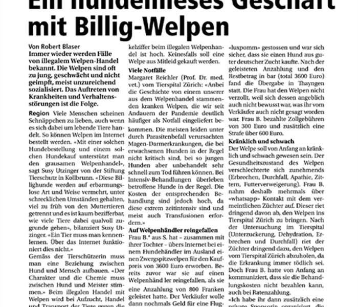 Winterthurer Zeitung - April 2021